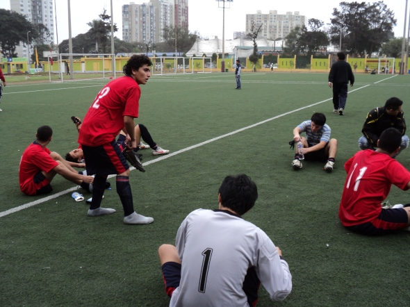 El club deportivo de Acined Perú es parte de la Federación Peruana de Fútbol.